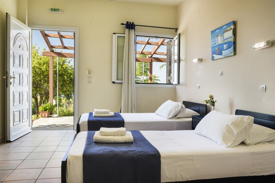 Studio Twin room in Kefalonia
